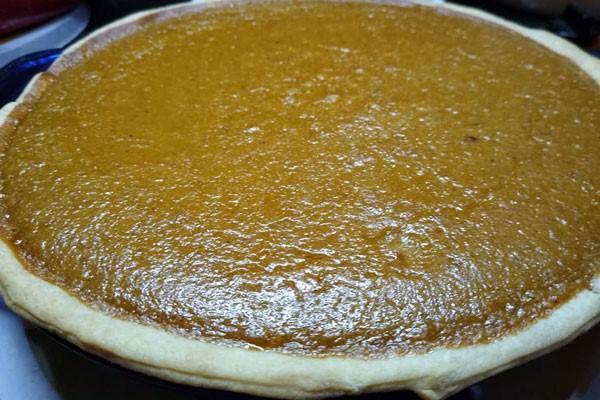 Mrs Claus Kitchen Homemade Fresh Pumpkin Pie