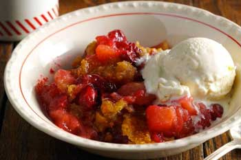 [Apple Cranberry Crisp]