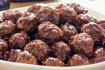 [Barbecue Jelly Meatballs]