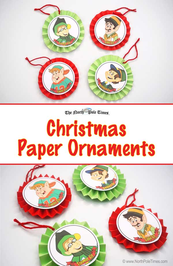 [Christmas Paper Ornaments]