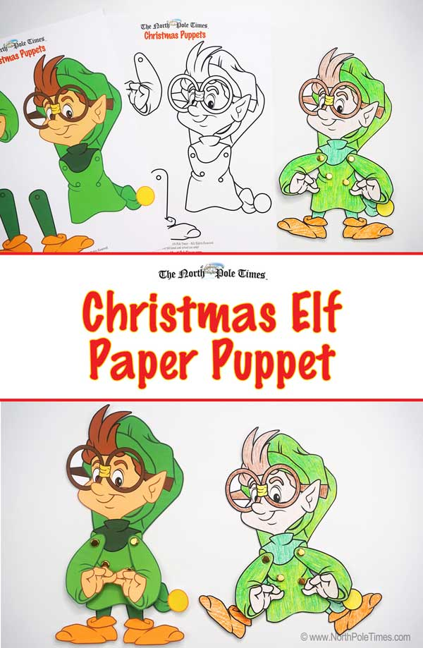 [Christmas Elf Puppets]