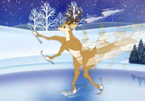 [Reindeer Skate for Gold ]